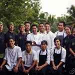 Staff of Bali Asli Restaurant